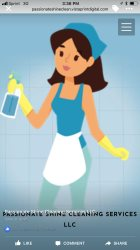 Passionate Shine Cleaning Services LLC Logo