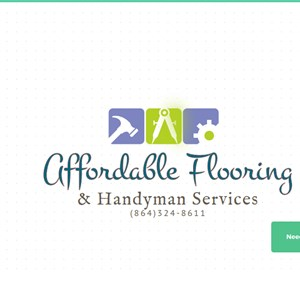 Affordable Flooring And Handyman Services Logo