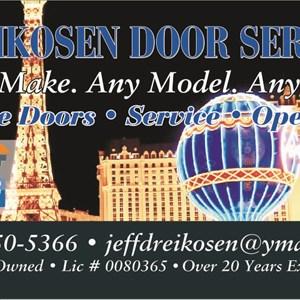 Dreikosen Door Service LLC Logo