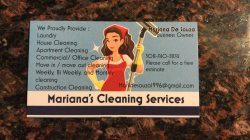 Marianas Cleaning Services Logo