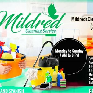 MildredS Cleaning Service Logo