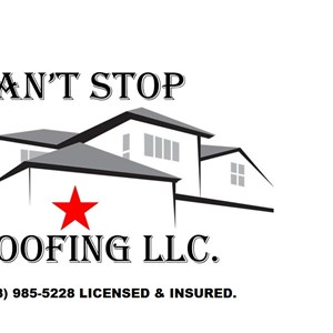 Cant Stop Roofing LLC. Logo