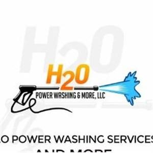 H2O Power washing and more  Logo