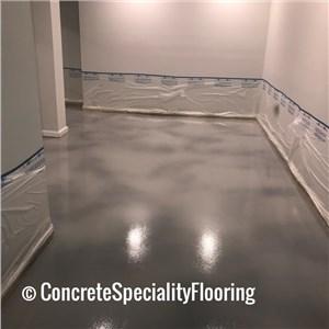 Concrete Speciality Flooring Logo