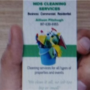 MDS CLEANING SERVICE Logo