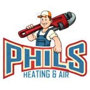Phils Heating And Air Logo