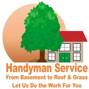 Basement to Roof & Grass Handyman Logo