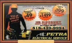 Petra Electric Company Logo