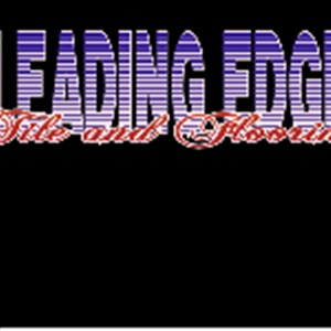 Leading edge tile and flooring Logo