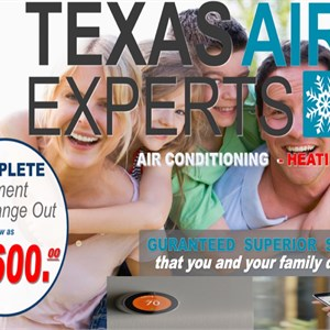 Texas air experts Logo