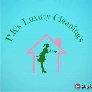 P.K.s Luxury Cleanings Logo