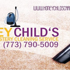 Honey Childs Carpet And Upholstery Cleaning Logo