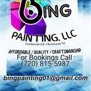 Bing Painting Logo