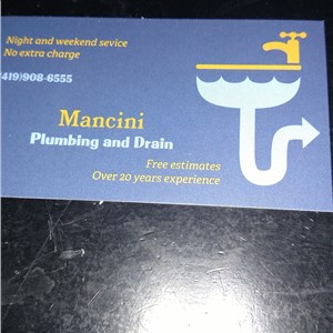 Mancini Plumbing And Drain Logo