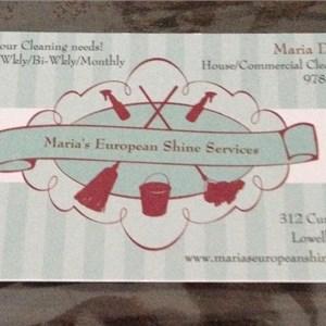 Marias European Shine Services Logo