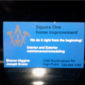 Square One Home Improvement Logo