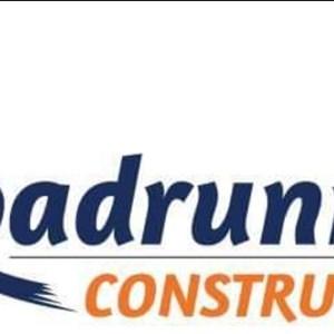 SA Roadrunner Construction Logo