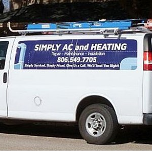 Simply AC AND Heating LLC Logo