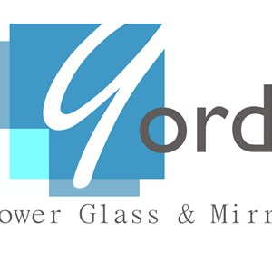 Yordi Shower Glass Logo
