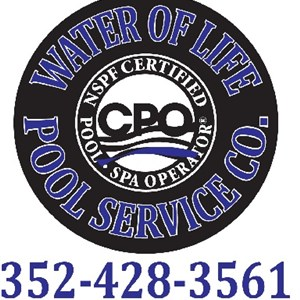 Water of Life Pool Cleaning Company Logo