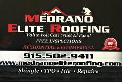 Medrano Elite Roofing Logo