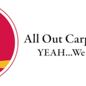 All Out Carpet Cleaning Logo