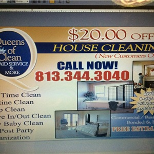 Queens of Clean Maid Service Logo