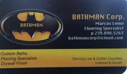 BATHMAN Corp. Logo