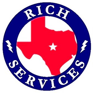 Rich Services Air Conditioning & Electrical Logo