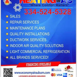 Economy Air Heating & AC LLC Logo
