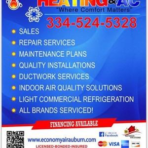 Economy Air Heating & AC LLC Logo
