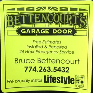 Bettencourts Garage Door Logo