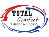 Total Comfort Heating And Cooling Logo
