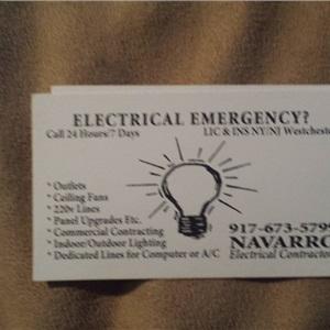Navarro Electrical Contractors Logo