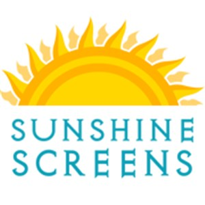 Sunshine Screens, LLC. Logo