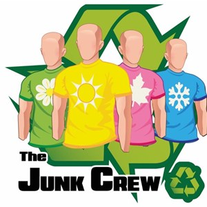 The Junk Crew LLC Logo