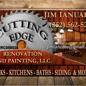 Cutting Edge Renovation and Painting, LLC Logo
