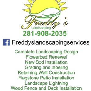 Freddys landscaping services Logo