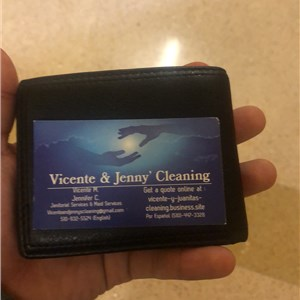 Vicente And Jennys Cleaning Logo