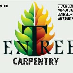 Gentree Carpentry Co Logo