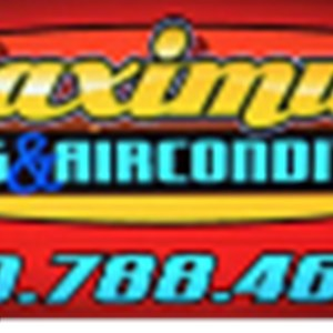 Maximum Heating and Air Conditioning Logo