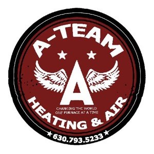A-Team Heating and Air Conditioning Logo
