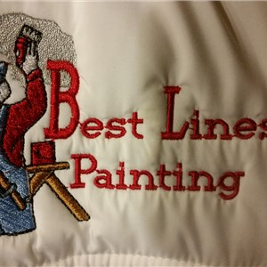 Best Lines Painting Logo
