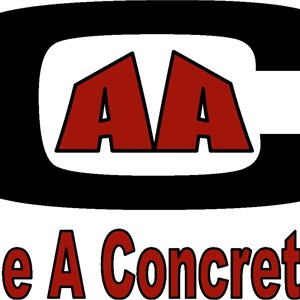 Double A Concrete Inc. Logo