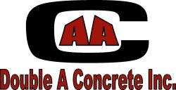 Double A Concrete Inc. Logo