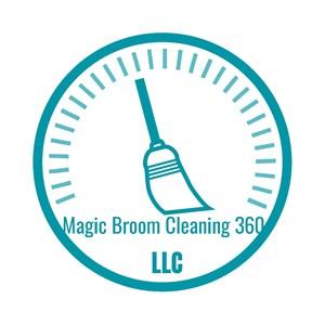 MAGIC BROOM CLEANING 360 Logo