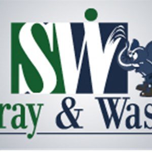 Spray & Wash Painting Logo