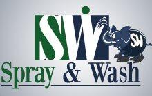 Spray & Wash Painting Logo