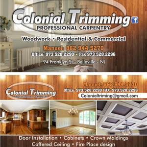 Colonial Trimming Professional Carpentry Logo