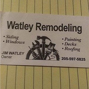Watley remodling Logo